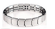 Stunning Mens Magnetic Bracelet by Select for Arthritis Pain Relief Aid Wristband Titanium