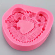 Textured Sleepy Bears Silicone Mould