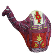 Camel Design Kettle Cover Indian Kashmiri Embroidery Quilted Tea Cover Gift