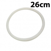 White 26cm Inner Dia Silicone Pressure Cooker Seal Sealing Ring Gasket