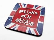Punks not Dead-Coaster 10 x 10 CM