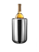 Final Touch Stainless Steel Wine & Champagne Chiller With Removable Gel Freezer Packs