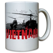 Vietnam War War US United States Army Helicopter 1st Division Military Helicopter Cavalry 9936 Coffee Cup
