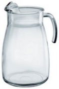 Ice Lipped 4 Pint Arctic glass Jug 2370ml / 2.5ltr (Single) by Chabrias Ltd