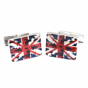 New Union Flag Men Business Party Shirts Cufflink GiSquare ft Cuff Links