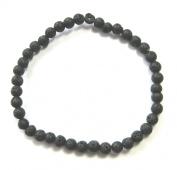 Lava Bead Bracelet 4 MM