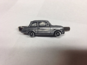 Triumph Vitesse 6 Saloon ref255 pewter effect emblem on a Tie Clip (slide) Handmade in sheffield comes with PrideInDetails gift box