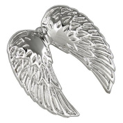 Angel's Wing Pendant, Stainless Steel