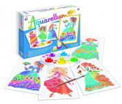 SentoSphere Junior Aquarellum Flower Princesses Arts and Crafts Paint Set