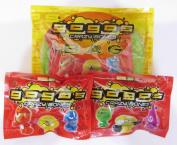 Gogos Crazy Bone Mini Bag (Series 1 - inc. 1 Packet of Gogos) + 2 Packets of Gogos