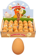 6 X Egg Shaped Bouncy Rubber Jet Ball Of High Quality