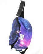 Spiral BUM BAG. Galaxy venus print.