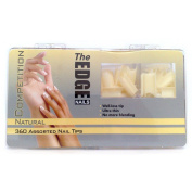 The Edge Natural Competition Nail Tip - Pack of 360