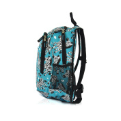 Obersee Kids Pre-School All-in-One Backpack with Cooler, Zebra