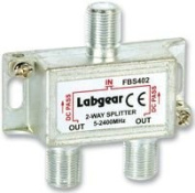 SPLITTER 2-WAY POWER PASS FBS402 By LABGEAR & Best Price Square