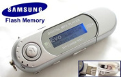 EvoDigitals 16GB Silver MP3 WMA Player for Samsung memory) USB With FM Tuner, Voice Recorder + More