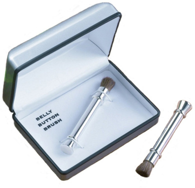Gift House Belly Button Brush