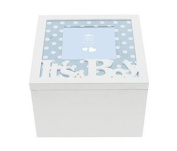 Baby Boy Keepsakes Box