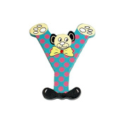 "Legler ""Y"" Bear's Head Letter Children's Furniture"
