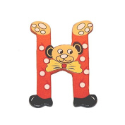 "Legler ""H"" Bear's Head Letter Children's Furniture"