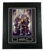 Game of Thrones Signed + Game of Thrones Film Cells Framed