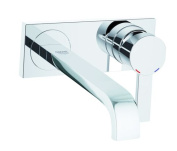 GROHE 19386000 220mm 2-Hole Basin Mixer Tap - Chrome