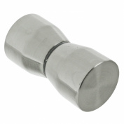 First4spares Shower Door Handle Knob - Elegant Cone Design