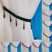 Crystal Beaded Curtain Tie Back