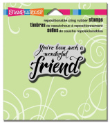 Stampendous Cling Rubber Stamp 8.9cm x 10cm Sheet-Penned Friend