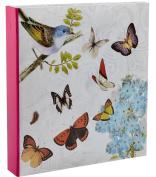 Arpan Lrage 5 x 7 Cream Slip In Memo Photo Album For 200 Holds - Butterfly
