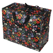Midnight Garden Design dotcomgiftshop Recycled Jumbo Laundry Storage Bag
