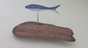 Hand Painted Small Fish on Driftwood