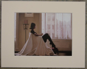 In Thoughts Of You by Jack Vettriano Mounted Art Print Picture