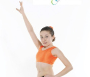 Girls Crop Top - Sleevelss - Nylon Lycra - 10 colours