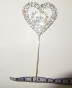 FDC Diamante Diamonte Heart On Stick