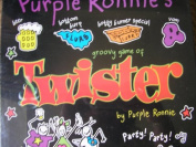 Purple Ronnie's groovy game of Twister