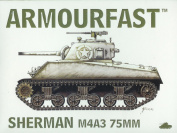 Armourfast 1/72 M4A3 Sherman 75mm
