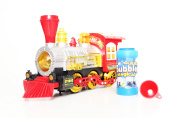BUBBLE TRAIN ENGINE battery operated bump & go toy bubbles maker blower MACHINE