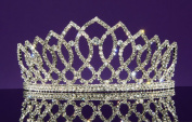 Alexandra - Elegant Rhinestone Crystal Bridal Wedding Tiara Crown