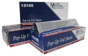 Durable Packaging 12105 Aluminium Foil Sheets, 30cm x 25cm - 1.9cm
