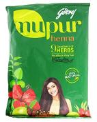 Godrej Nupur Mehendi Powder 9 Herbs Blend-55 Grammes