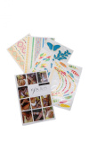 Flash Tattoos - Illia - Authentic Metallic Temporary Tattoos Multi One