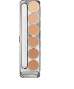 Kryolan Dermacolor Camouflage Creme Palette 6 Colours D 1 W - D 6 W 71007