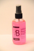 BIG VALUE BOTTLE SPRAY Infinitive Beauty Derma Roller Skin Roller steriliser Sterliser Spray. A BLEND of Ethanol, Cetrimonium Chloride & Triclosan. KILLS 99.9% of Bacteria - as used in HOSPITALS