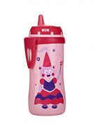 NUK Hard Spout Active Cup in Assorted Colours and Patterns, 300ml