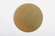 RMP Stamping Blanks, 3.2cm Round, .80cm / 20 Gauge Brass - 20 Pack