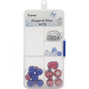Holiday Bead Kit-Patriotic - Red, White & Blue