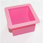 Large Square Soap Candle Cake Jelly Candy Silicone Mould Mould