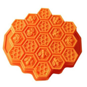 Honeycomb Cake Moulds for Kids 17-Hole Silicone Baking Cake Mould Bakeware