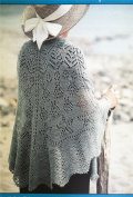 Fibre Trends Seascape Shawl Knitting Pattern S-2008